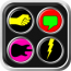 参考售价(美金):0.99元  Big Button Box 2是畅销游戏Big Button Box Pro的后续版本,轻轻触碰萤幕上面大型按钮,随着结实的音乐声进入游戏吧!本游戏共有 3 种不同模式可供玩家选择:(1) 大按钮模式、(2) 单音模式、(3) 多音模式,点选你喜欢的模式享受游戏吧!