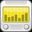 參考售價(美金):1.99元 這款時鐘型廣播軟體的顯示方式簡單明瞭, 很適合放在書桌、廚房或床頭上。此軟體的廣播功能是由 SHOUTcast 提供, 內建超過 25000多個免費廣播電台。這種結合鬧鐘與廣播的產品已行之有年, 可讓您在喜歡的音樂環繞下起床。