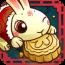 今年的中秋節是2010年9月22日,玩家們可一起過中秋佳節一邊玩這款有趣的吃月餅分享遊戲。在月球上的兔子正在享受可口的月餅,玩家們必須幫忙將切好的月餅分送給兔子們。但是要切記,它是有時間限制的喔。