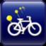 參考售價(美金):3.99元 bikeTrail是一款可以在地圖上自動追蹤並記錄您的所在位置,只要按下「Start New」按鈕即可開始啟動行程路徑。綠色圖釘則是標示著您當前的位置,以及您之前經過的路徑也會顯示在地圖上。