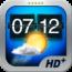 參考售價(美金):1.99元 Weather+可提供影片式動態背景圖片配合當地氣候狀態和五天的氣象預測,它是以全螢幕方式來讓背景影片重複顯示。翻轉式時鐘(Flip Clock)與世界時鐘顯示配合即時更新的氣候狀態,可讓使用者印象深刻。