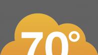 這款氣象溫度的軟體是以華氏(°F)溫度顯示,它的界面簡約、優雅、具現代感,點選上方的圓鈕可切 […]