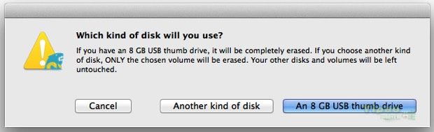 make a mac osx install usb 7