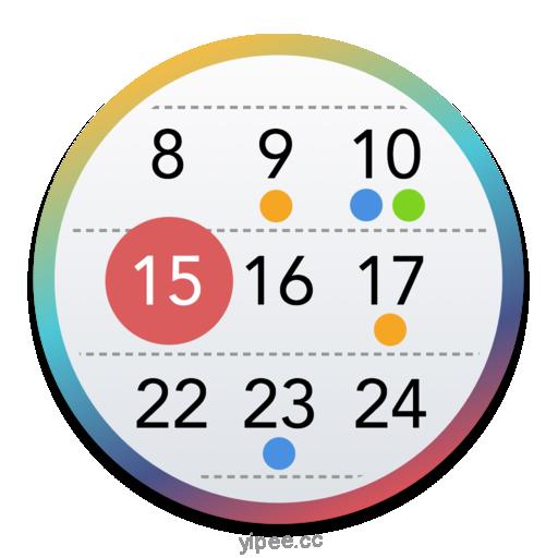 【Mac OS APP】Calendarique 日曆窗口小套件