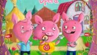 這個故事是發生在大家熟知的三隻小豬故事之後,狼吹倒了小豬的房屋後異想天開的故事。因為大野狼吹 […]