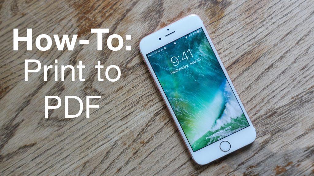 【iOS 教學】簡單一招,就能把 iPhone 的網頁/照片/ Email 轉存成 PDF LINE 給朋友囉!