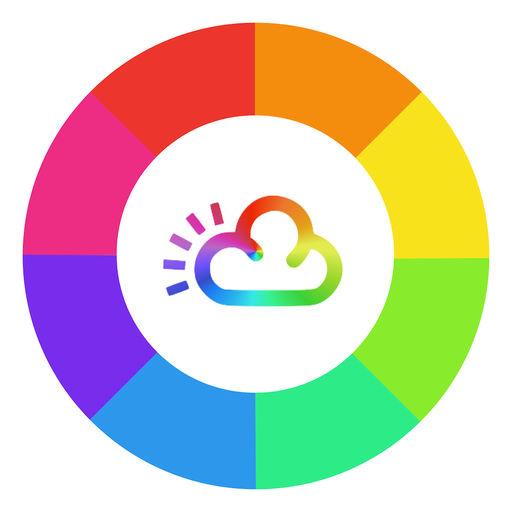 【iOS APP】Rainbow Weather Widget 彩虹天氣小工具:小而美的每週氣象預測軟體