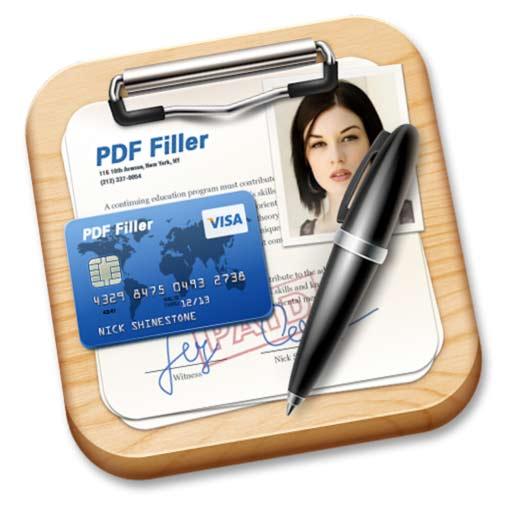 【Mac OS APP】PDF Form Filler + 檔案簽署工具