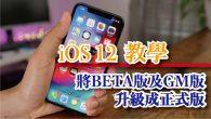 iOS 12 正式版釋出更新之後,但如果你的 iPhone 或 iPad 先前已經搶先體驗安 […]