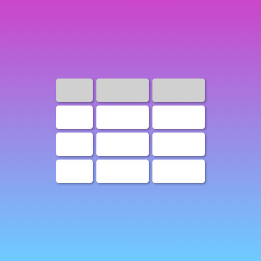 【iOS APP】Simple Spreadsheet 簡易表格 – 手機表格制作工具
