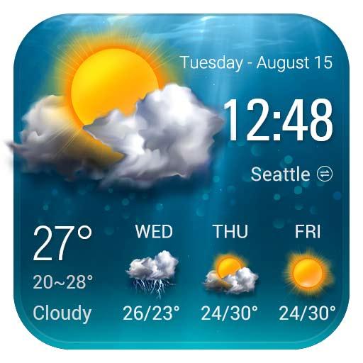 【Android APP】Weather Live 天氣直播