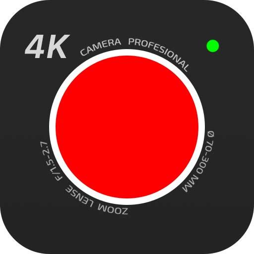 【Android APP】 4K Camera – Filmmaker Pro Camera Movie Recorder 電影製片人攝影機