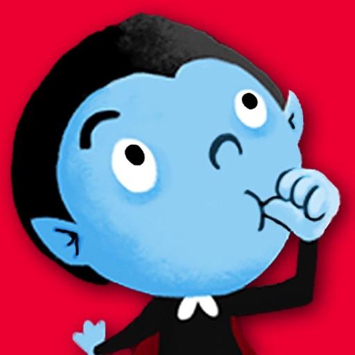 【iOS APP】Thumbpire 兒童互動電子書~愛吸拇指的小吸血鬼