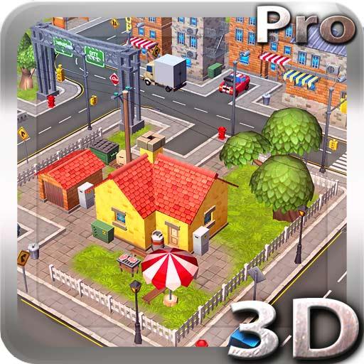 【Android APP】Cartoon City 3D live wallpaper 動漫城立體動態壁紙