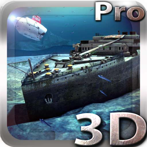 【Android APP】Titanic 3D Pro live wallpaper 鐵達尼水下動態桌布