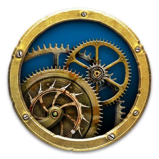 【Mac OS APP】Mechanical Clock 3D 動態機械時鐘壁紙