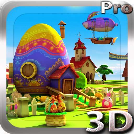 【Android APP】Easter 3D Live Wallpaper 復活節動態桌布