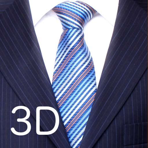 【iOS APP】Tie a Necktie 3D Animated 教你如何打領帶