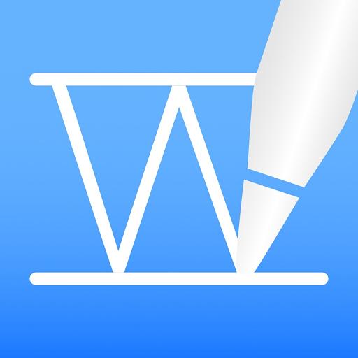 【iOS APP】Writey 英文草書和印刷體練習本 for Apple Pencil