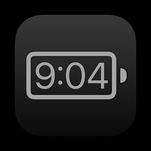【Mac OS APP】Battery Time & Health 電池時間與健康顯示圖示