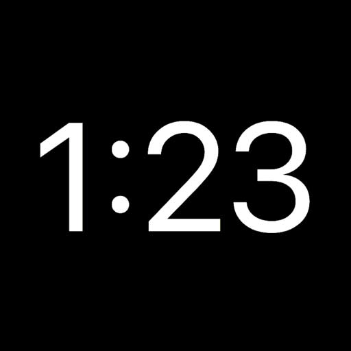 【iOS APP】It's About Time! 純粹簡單的時鐘~就是現在!