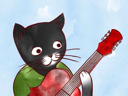 【iOS APP】Jazzy Animal Musicians 動物們的爵士樂派對  iMessage 貼圖包