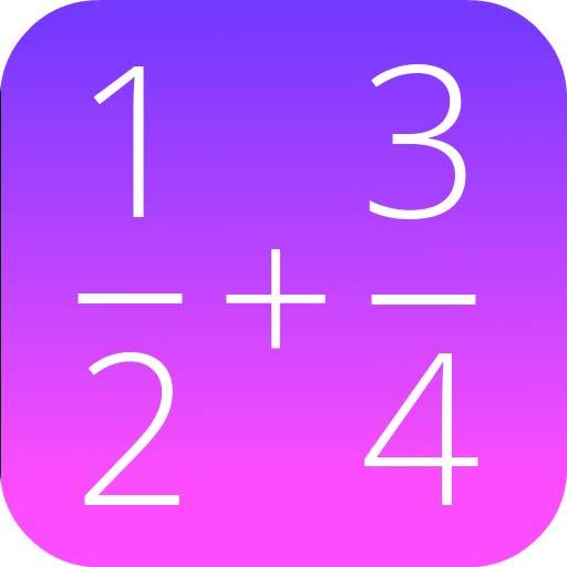 【Android APP】 Fractions Math Pro 分數數學專業