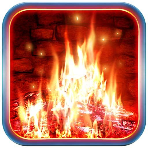【Mac OS APP】Fireplace 3D 逼真壁爐螢幕保護程式