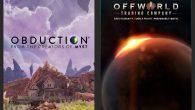 冒險解謎遊戲《Obduction 仰沖異界》和即時戰略《Offworld Tra […]
