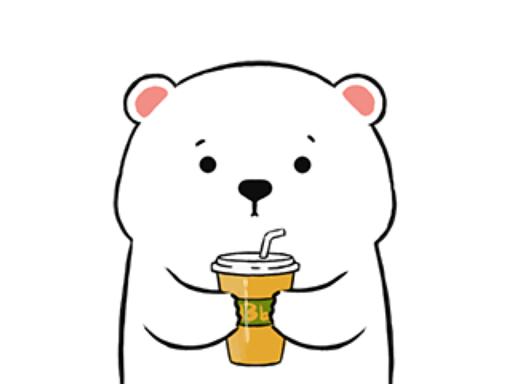 【iOS APP】Polar Bear Animated Stickers 北極熊動畫貼圖   iMessage 貼圖包