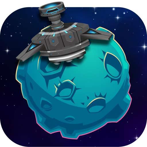 【iOS APP】Area51 Launch 太空怪物大逃亡~彈跳式移動遊戲