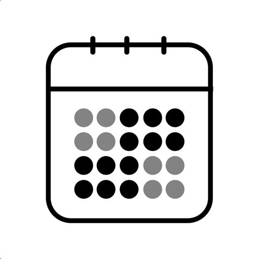 【iOS APP】Calendar Widget 桌面月曆小部件