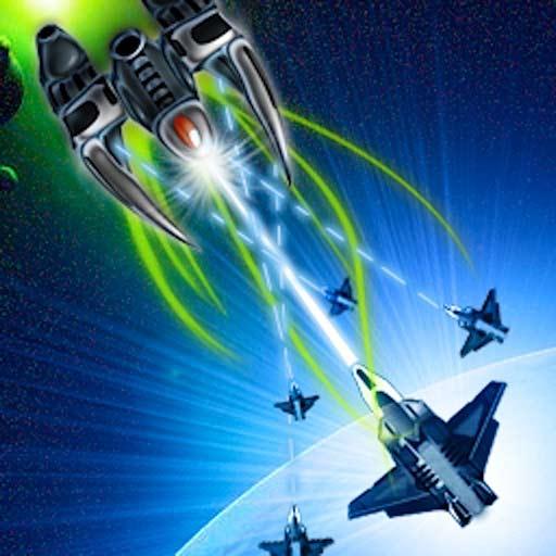 【iOS APP】Space War GS 太空射擊遊戲~星際之戰